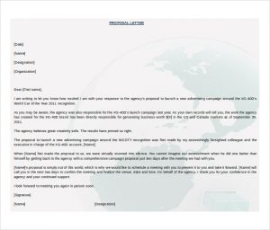 business proposal template word free download formal business proposal letter microsoft word