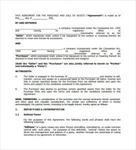 business purchase agreement pdf sample business purchase agreement documents in pdf word