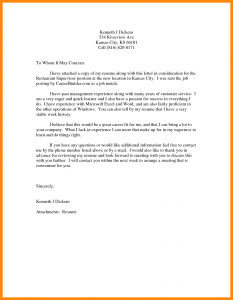business receipt template letter of concern template