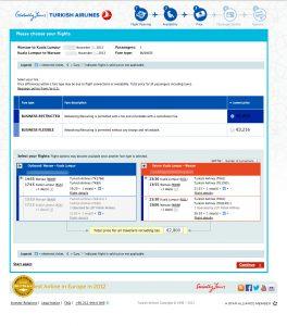 business receipt template turkish airlines business class waraw kuala lumpur eur