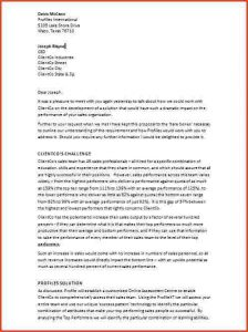 business recommendation letter a business proposal letterproposalsample