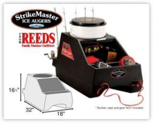 business thank you strikemaster glide lite ice fishing sled gl ebay