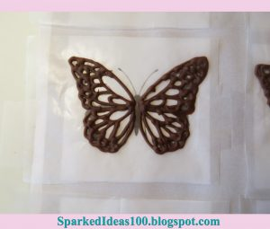 butterfly wing template butterflychocolate progresssingle sparkedideas