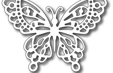 butterfly wing template fra die