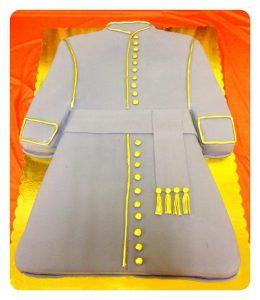 cake order form cassock robe cake