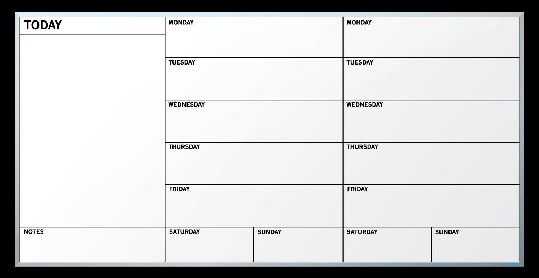 calendar schedule template