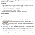 call center representative resume call center trainer