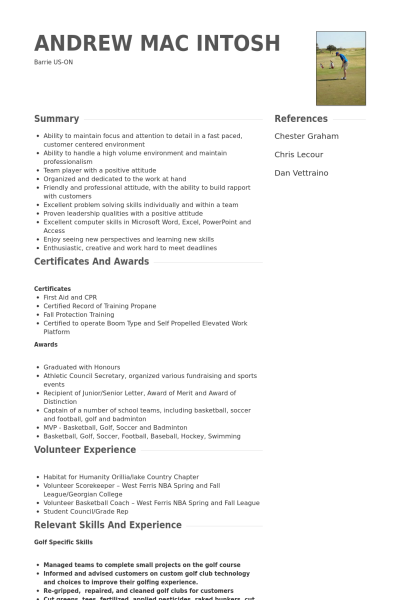 call center representative resume