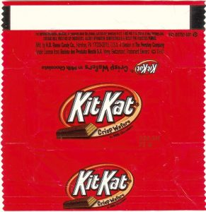 candy bar wrapper template image