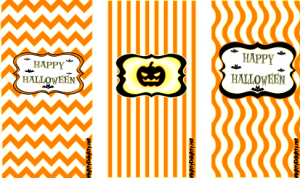 candy bar wrapper template mini candy bar wrappers orange halloween