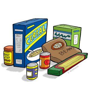 canned food drive flyer ptoarxyc