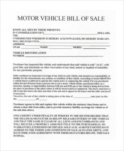 car bill of sale ga used vehicle bill of sale