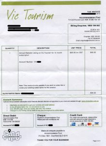 car bill of sale word victourism
