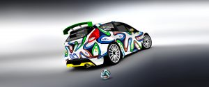 car logo design kika racing ball design for fiesta r