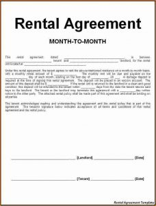 car rental agreement house rental contract rental agreement template