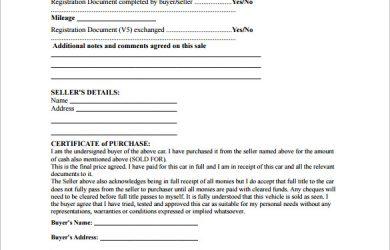 car sale receipt template private car sale receipt pdf download