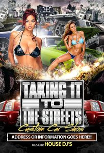 car show flyers carshow x f