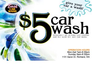 car wash flyer beff b