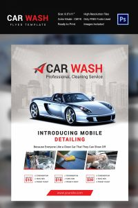 car wash flyer car wash flyer template