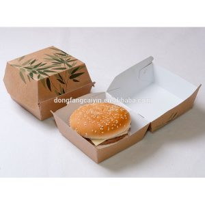 cardboard box template packaging burger box templates