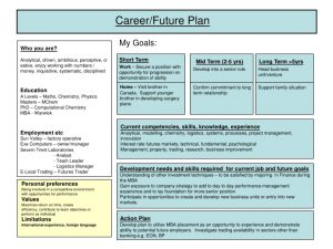 career development plan slide