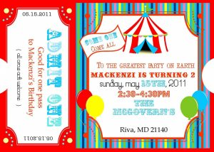 carnival ticket template free printable carnival ticket invitation templates