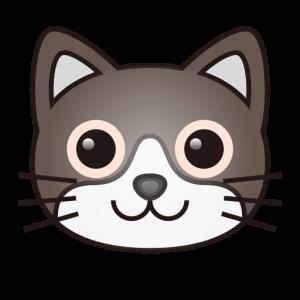 cat emoji text cat face