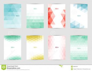 catalog cover design set templates covers flyer brochure banner leaflet book size cover layout design abstract presentation artistic