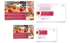 caterer business cards fbd s