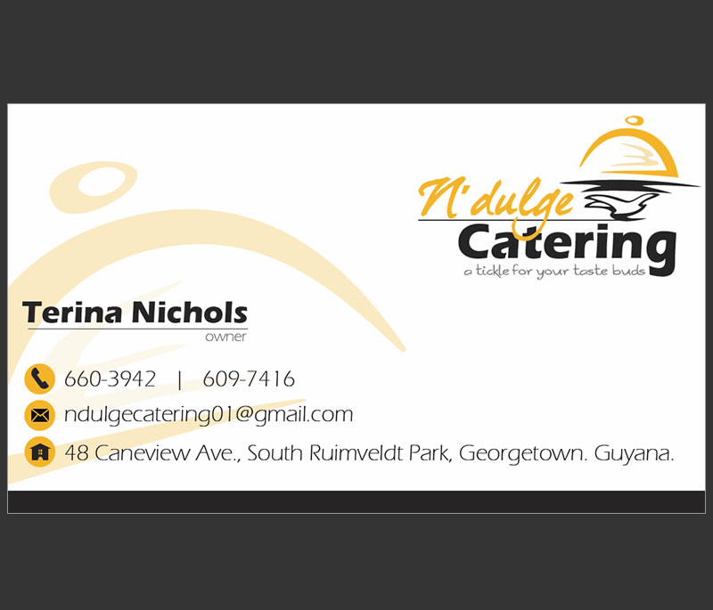 Caterer Business Cards | Template Business