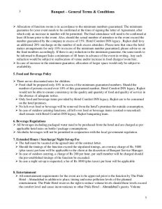 catering contract sample letter of agreement bqt