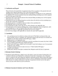 catering contracts template letter of agreement bqt