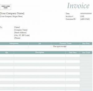catering invoice template invoice templates