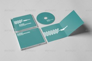 cd cover design template screenshots
