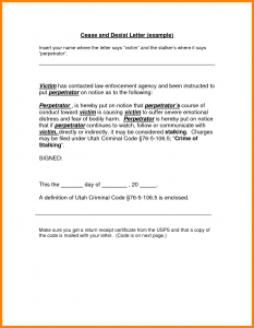 cease and desist letter template cease and desist letter template cease and desist letter template pkdlaan