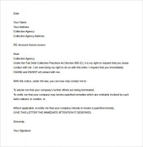 cease and desist letter template sample cease and desist letter template harassment word download