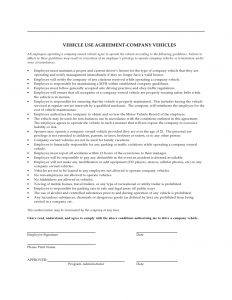 cell phone policy workplace sample pdf company vehicle use agreement