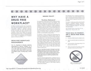 cell phone policy workplace sample pdf drug free workplace back