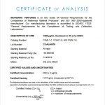 certificate of analysis certificate of analysis fda template