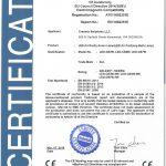 certificate of compliance template ate led led cb ce emc