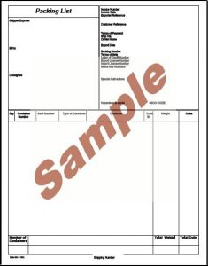 certificate of origin pdf packinglistoceancontainerportrait