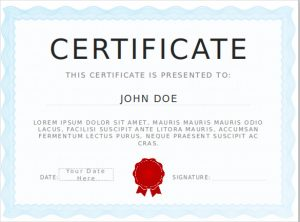 certificate template powerpoint certificate diploma template for free