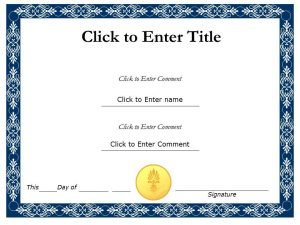certificate template powerpoint student recognition diploma certificate template of completion completion powerpoint for kids slide
