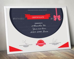 certificate templates free download creative corporate certificate template
