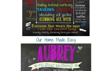 chalk board fonts chalkboard poster