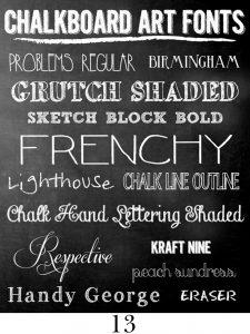 chalkboard font free chalkboard fonts