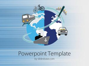 chalkboard powerpoint template slide world bike train ship train plane transport powerpoint template