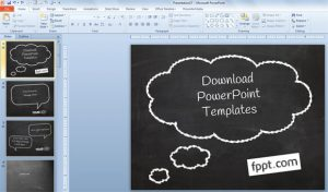 chalkboard powerpoint templates animated hand blackboard powerpoint