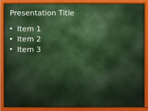 chalkboard powerpoint templates free chalkboard powerpoint template
