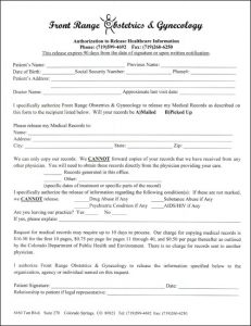 change order forms release health info form thumb